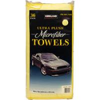 Yellow Microfibre Cloth