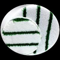 """Green Striped Bonnet 17"""""""