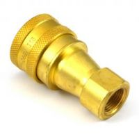 Q R Brass Coupling Female