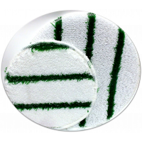 Green Striped Bonnet 13""