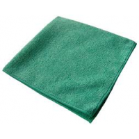 Green Microfibre Cloth