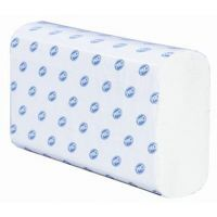 Slimfold 2 ply White Hand Towel