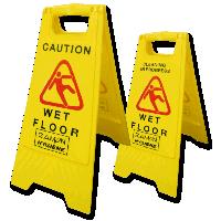 Safety Sign Wet Floor